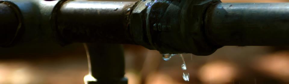 waterleiding lekkage